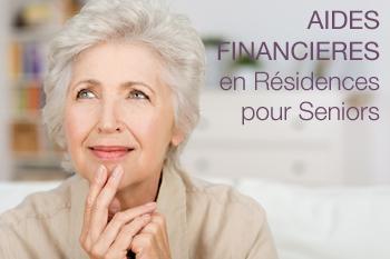 Aides financières en résidence seniors
