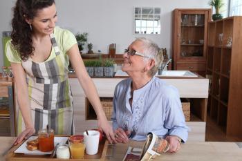 Maintien à domicile d'une personne âgée