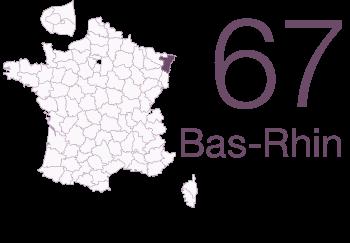 Bas Rhin 67
