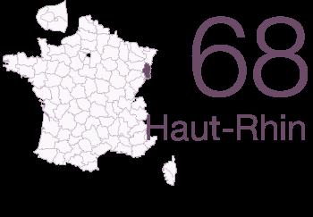 haut Rhin 68