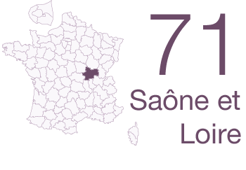 Saone et Loire 71
