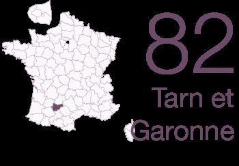 Tarn et Garonne 82